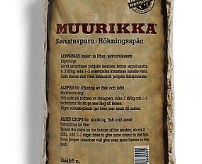 Muurikka to6863 Smoking Chips von Erle, 2 l, Beige, 30 x 30 x 30 cm