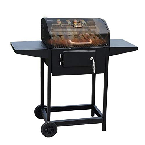 wanhaishop Camping Grill Großer Grill im Freien Home Charcoal Grill Field Barbecue Picknickgrill